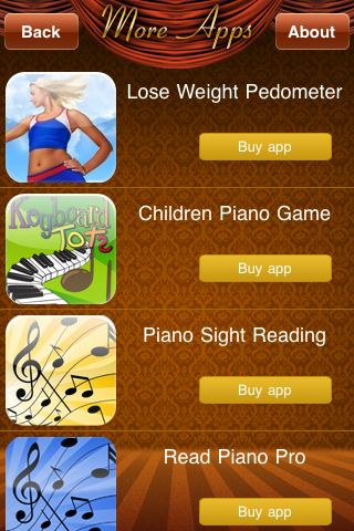 Screenshot iPiano Lessons