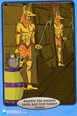 Screenshot Mummy Escape