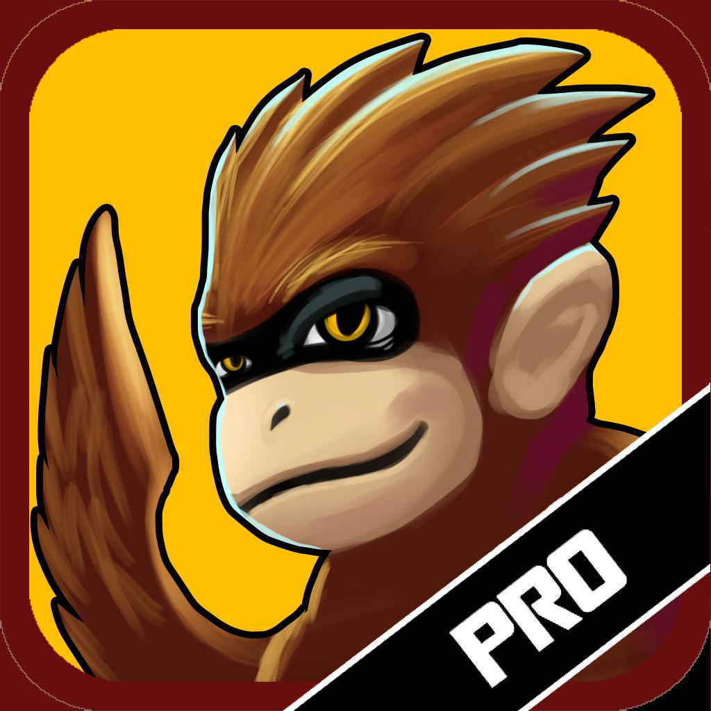 Banana Wars PRO: Crazy Flying Monkey Adventures